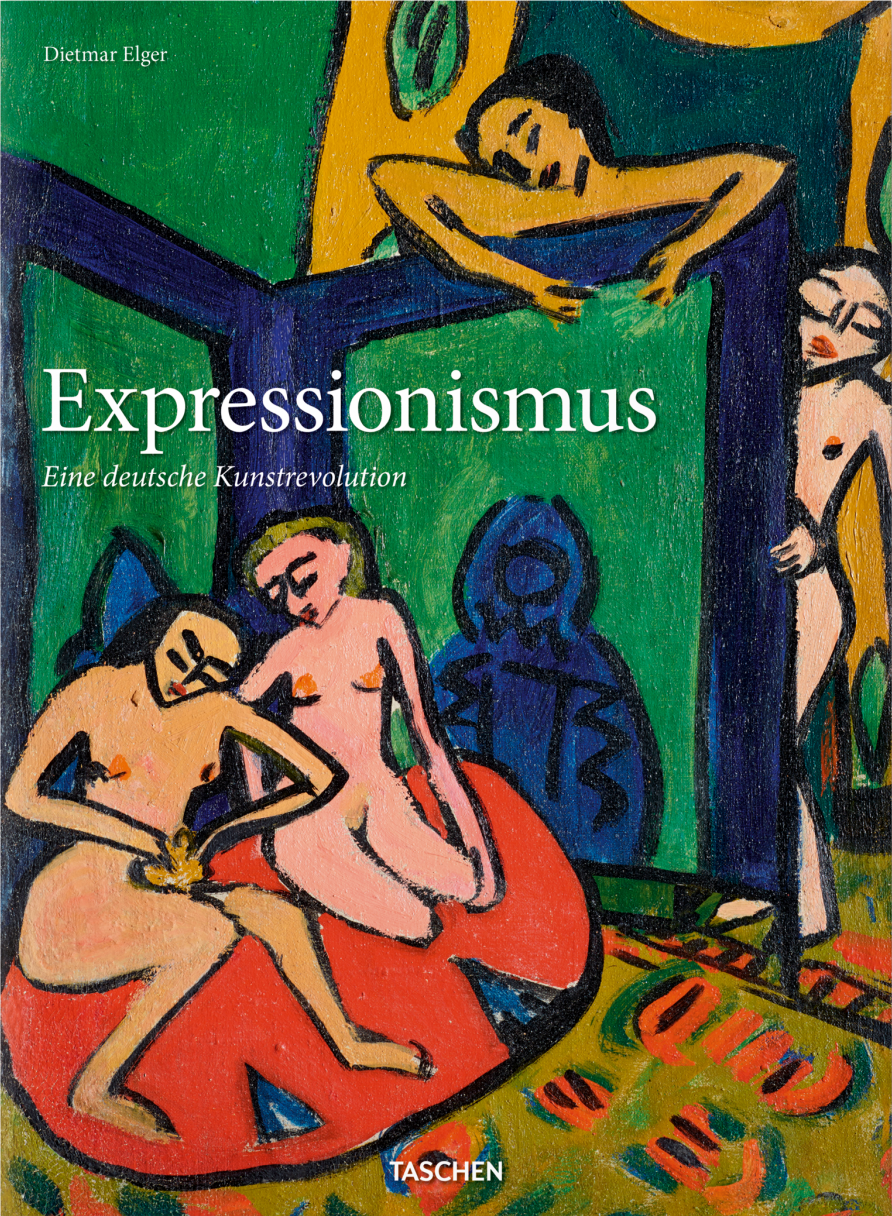 Buchcover: Dietmar Elger: Expressionismus