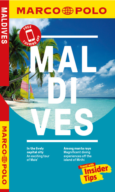 Buchcover: Marco Polo Maledives