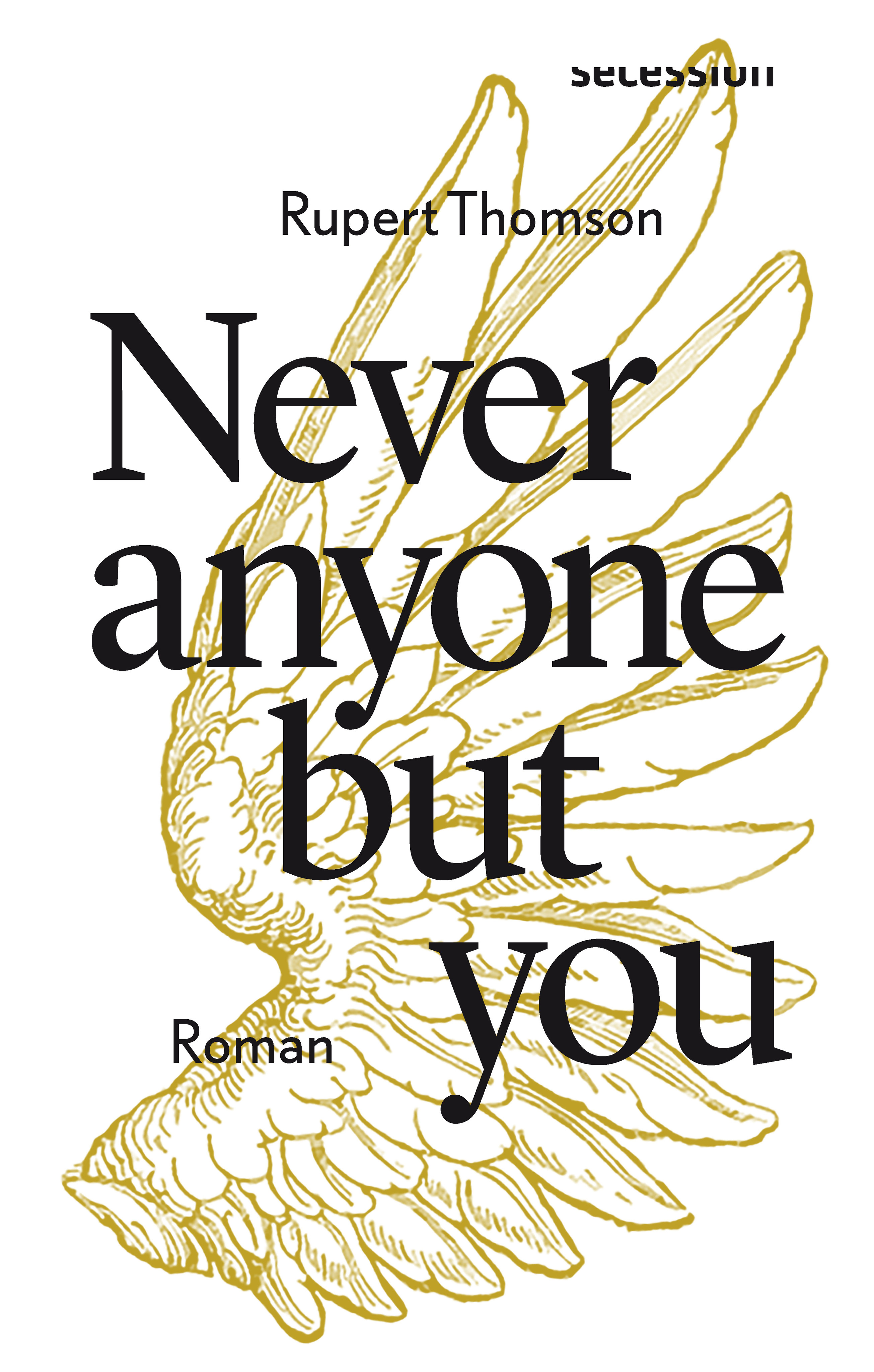Buchcover: Rupert Thomson: Never anyone but you